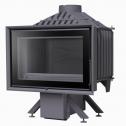 Wkład kominkowy KFD iLUX 90 / doprowadzenie powietrza/ szyba prosta